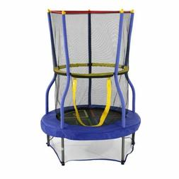 child trampoline safety net enclosed jump mat