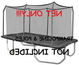 ck6020 trampoline replacement rectangle enclosure net only