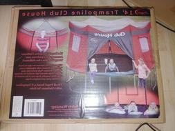14' Trampoline Clubhouse Tent Playhouse Weather Resistant Co