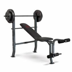 Marcy Diamond Bench and Weight Set
