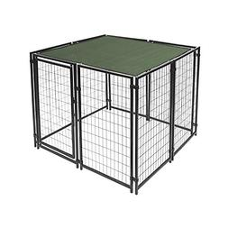 Aleko 5' x 10' Dog Kennel Shade Cover with Aluminum Grommets
