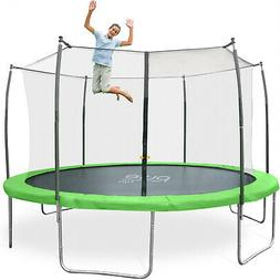 Pure Fun DuraBounce 15-foot Trampoline With Enclosure