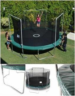 Bounce Pro Electron Shoot Trampoline Game With Safety Enclos