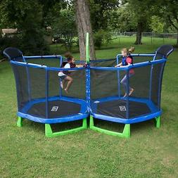 SportsPower My First Trampoline with Enclosure Double 7-Foot