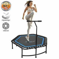 "SereneLife Fitness Exercise Rebounder Mini Trampoline - 48"""