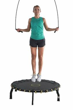 """Fitness Trampoline 45"""", Jump Tracker with Free Exercise App"""