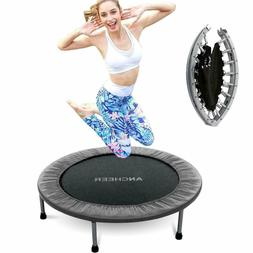 ANCHEER Fitness Trampoline for Adults Kids Load 220lbs Rebou