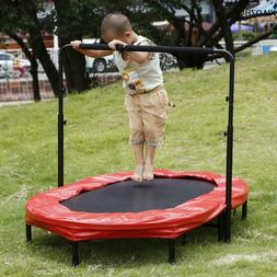 Fitness Trampoline For Kids Oval Jogger Cardio Workout Exerc