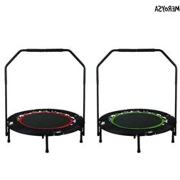 Fitness Workout 40 Inch Mini Rebounder Trampoline with Adjus