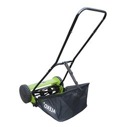 ALEKO GHPM16 5-Blade 16 Inch Hand Push Lawn Mower Adjustable