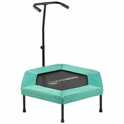 Upper Bounce - Hexagonal Fitness Mini-Trampoline - T-Shaped