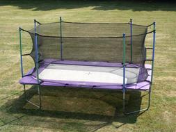 I-Jump 10x17 Rectangle Rectangular Trampoline with Safety Ne