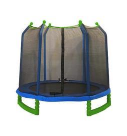 Upper Bounce Indoor/Outdoor Classic Trampoline and Enclosure