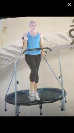 Indoor Fitness Trampoline Stamina   Avari Jogger Woman Worko