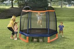 Little Tikes 7' indoor/outdoor Trampoline with Enclosure New