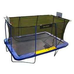 Jumpking JKRC10152BHC3 Rectangular Trampoline with Basketbal