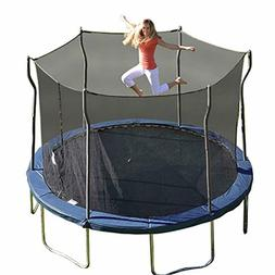 Kinetic Trampolines K12-6BE Trampoline with Enclosure, Blue,