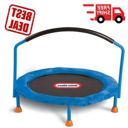 Kids Trampoline 3' Indoor Large Jumping Surface Perfect Burn