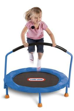 Kids Trampoline Exercise Jumping Bouncer Bouncing Fun w/ Han