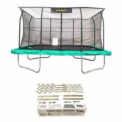 10x14 foot trampoline w safety net