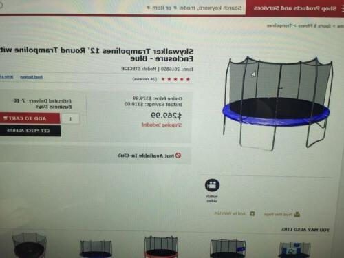 Stats 12 foot Round Trampoline and
