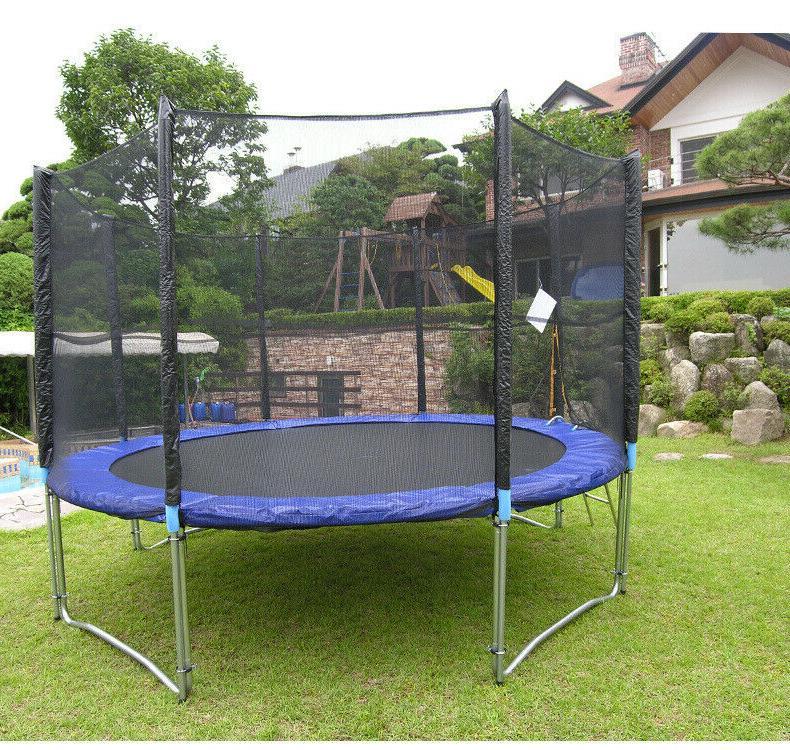 12-FT Bounce Jump Net w/Spring