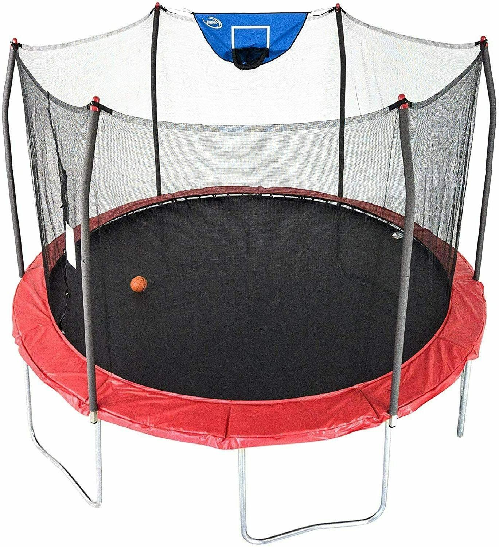✅✅Skywalker Trampolines 12-Foot Jump N' Dunk Trampolin