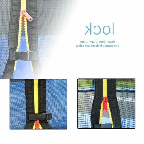 12ft 15FT w/Enclosure Jump Safety Net Spring Pad
