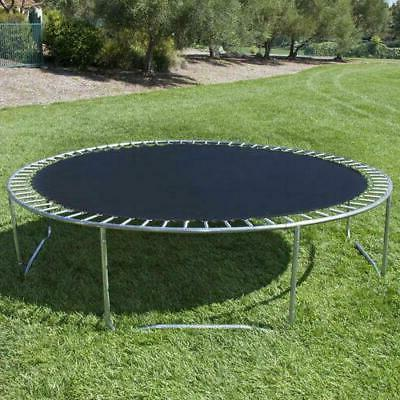 12FT Trampoline Safety Bounce Jump Net w/Spring Pad&Ladder