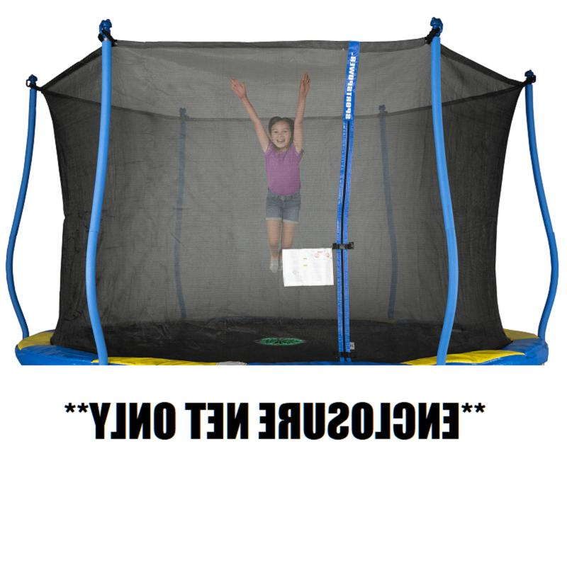 BOUNCE PRO 12FT ROUND TRAMPOLINE REPLACEMENT ENCLOSURE NET O