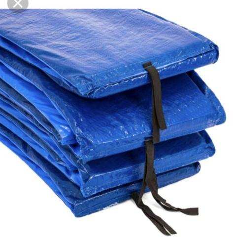12ft Trampoline Pad Thick Foam Blue