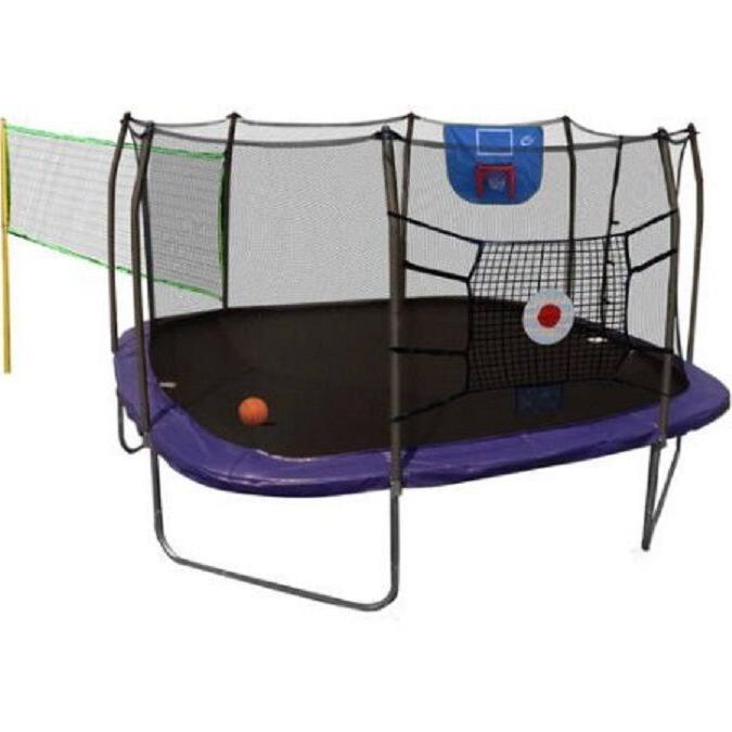 13' Sport Trampoline Net Basketball