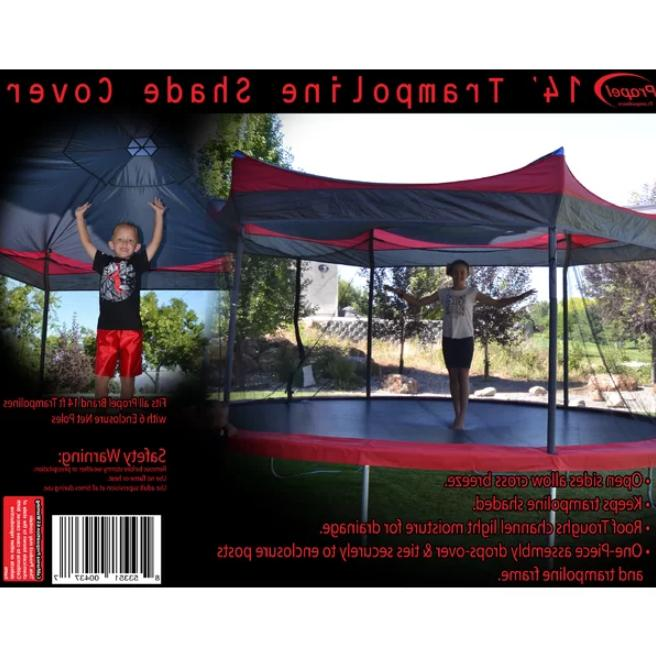14' Trampoline Shade Cover Weather Protection Canopy Tent