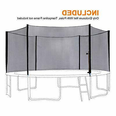 14FT Trampoline Outer Safety with 6 Poles 6180-N014