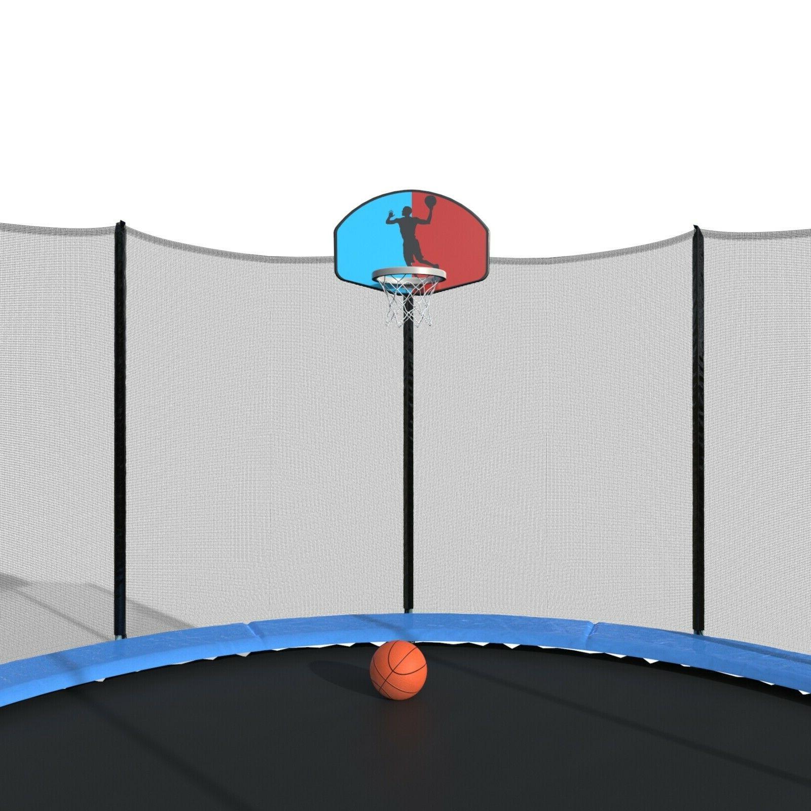 Merax Trampoline Basketball and