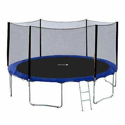 15 foot round trampoline with safety pad