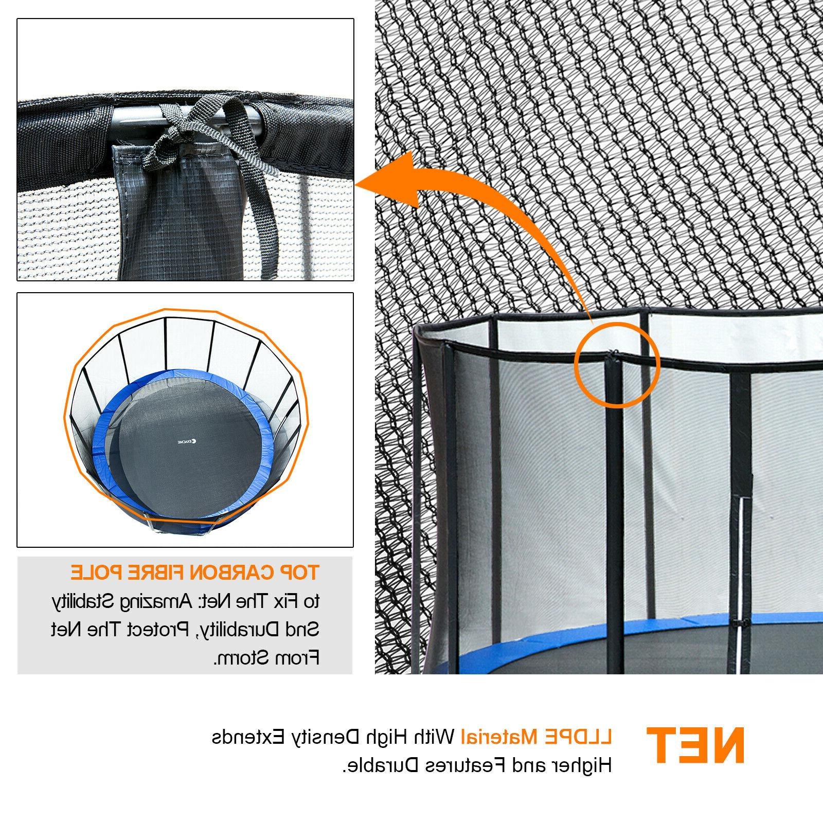 Exacme FT Trampoline with 400 Weight Limit& Top
