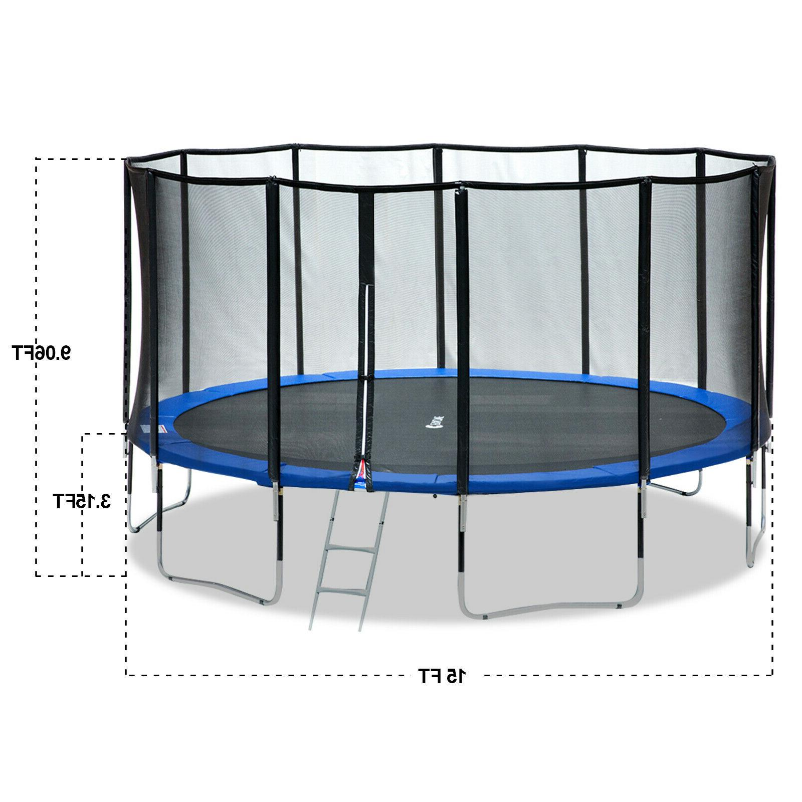 Exacme 15 Trampoline 400 Weight Top Pole