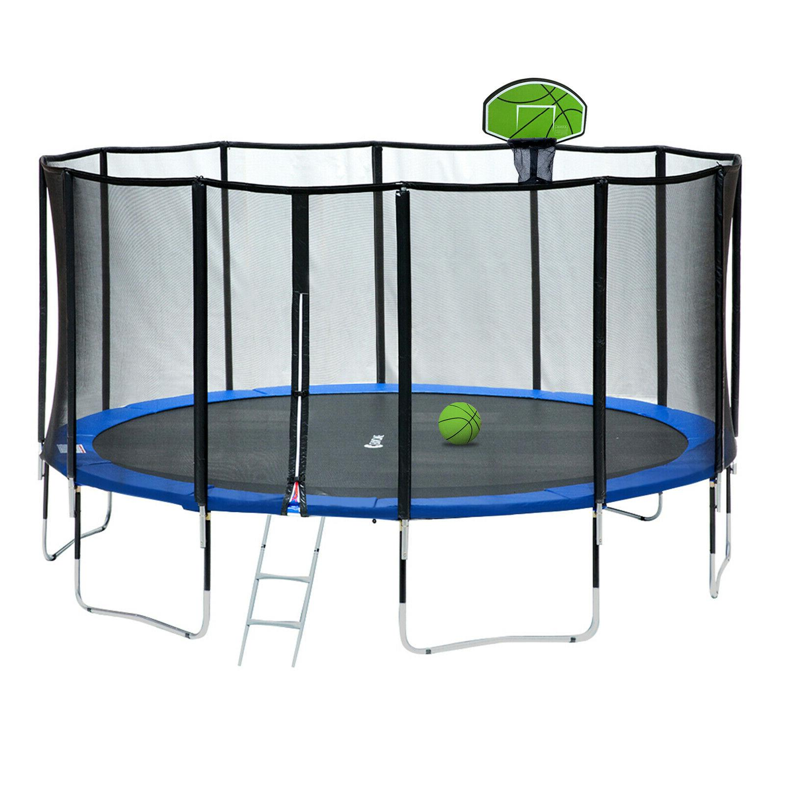 Exacme 15 FT Trampoline 400 Weight Limit& Top