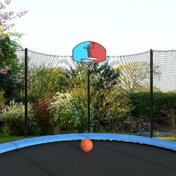 with Safety Basketball Hoop and