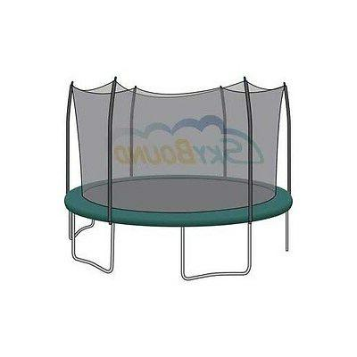 15 trampoline net fits 6 straight curved