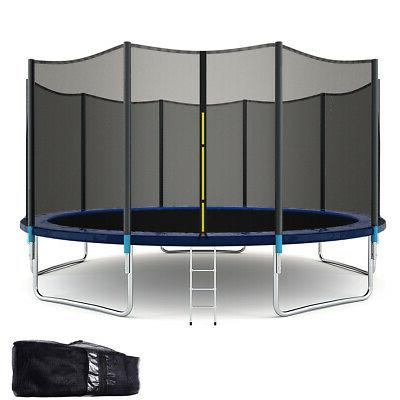 15ft all weather trampoline combo bounce jump