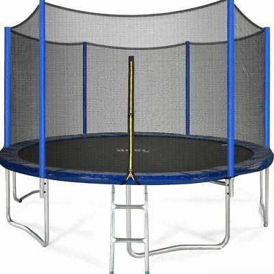 15ft trampoline for kids safe outdoor trampoline