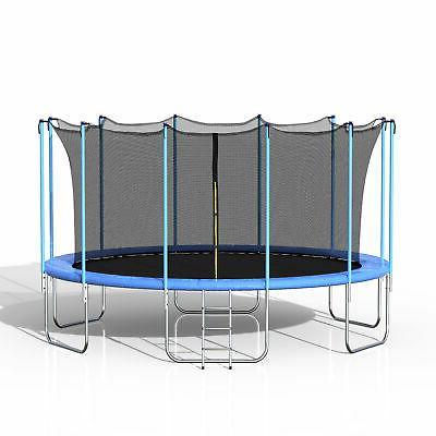 Merax Spring Enclosure, Blue