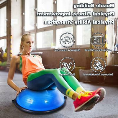 """23"""" Ball Exercise Workout w/Pump Blue"""