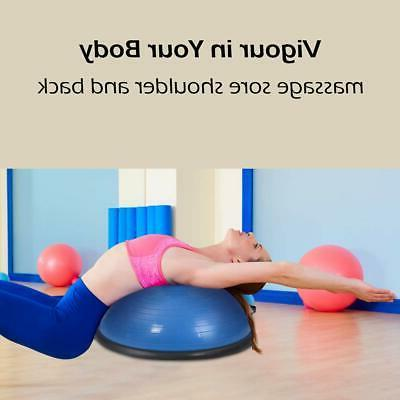 """23"""" Yoga Ball Trainer Fitness Exercise w/Pump"""