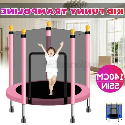 4 6ft kid play trampoline exercise jumping