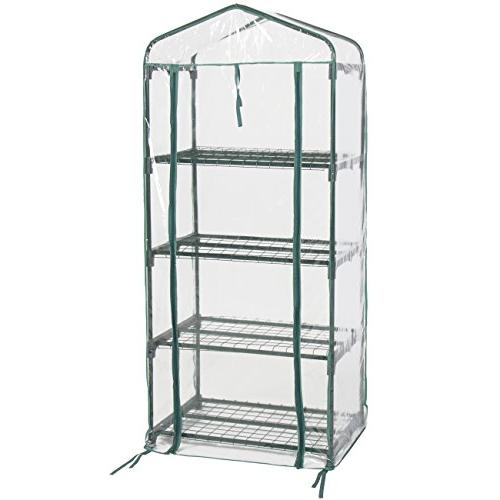 """Best Choice Products 4 Tier Mini Green 27"""" x 63"""""""