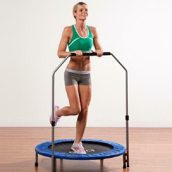 Pure Fun Exercise Trampoline, Adjustable Hand