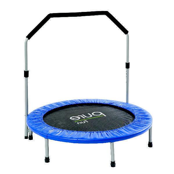 Pure Fun Trampoline, with Handrail, Adjustable Hand